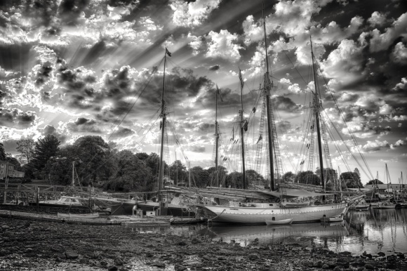 Camden Harbor Sunrise