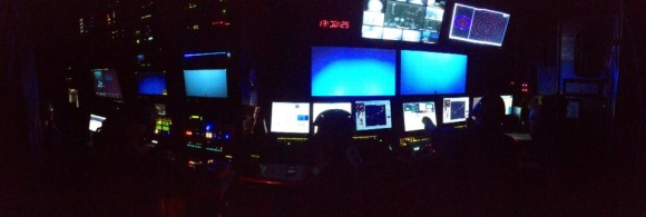 The ROV control room